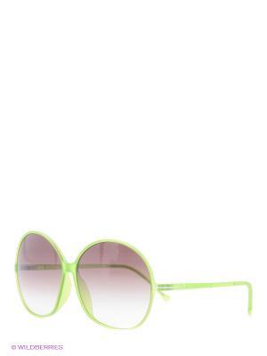 Очки солнцезащитные TM 517S 02 Opposit. Цвет: салатовый
