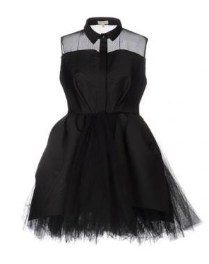 Короткое платье DELPOZO. Цвет: черный