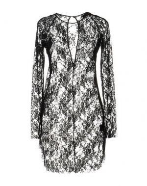 Короткое платье IF SIX WAS NINE. Цвет: черный