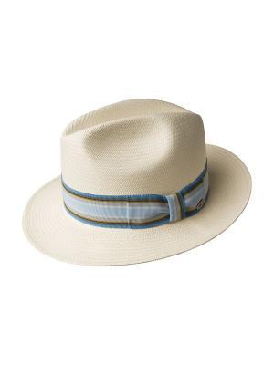 Шляпа Bailey. Цвет: бежевый, голубой