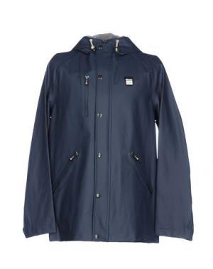 Легкое пальто BLAUER. Цвет: грифельно-синий