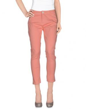 Повседневные брюки BENCH. Цвет: лососево-розовый