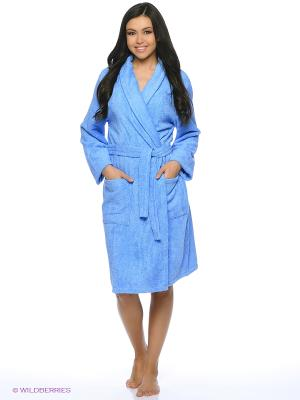 Халаты AMO LA VITA. Цвет: голубой