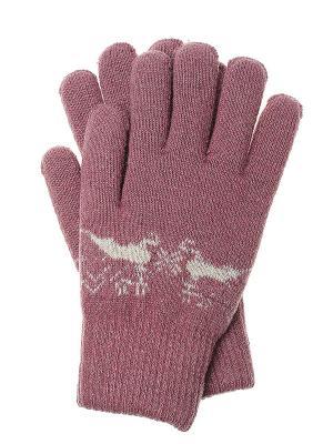 Перчатки Olere. Цвет: розовый