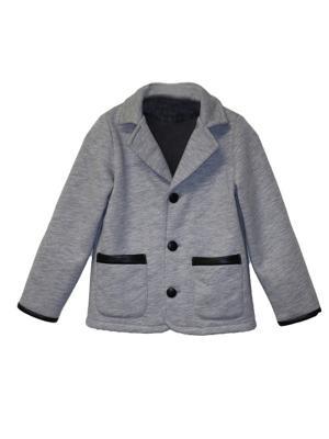 Пиджак Me&Mummy. Цвет: серый