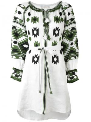 Платье Klim Vita Kin. Цвет: белый