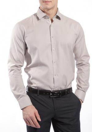 Рубашка Grostyle. Цвет: бежевый