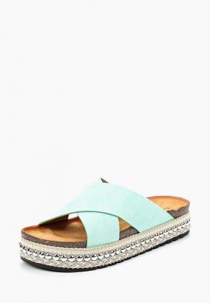 Сабо Sweet Shoes. Цвет: бирюзовый
