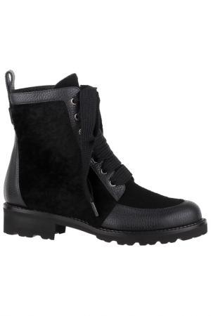 Ботинки Ballin. Цвет: черный, серый