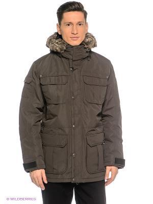 Куртка Northland Professional. Цвет: коричневый