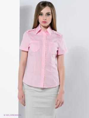 Блузка Colletto Bianco. Цвет: розовый