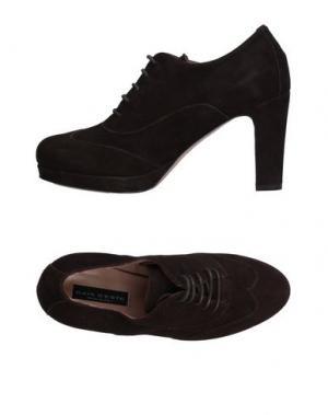 Обувь на шнурках GAIA D'ESTE. Цвет: темно-коричневый