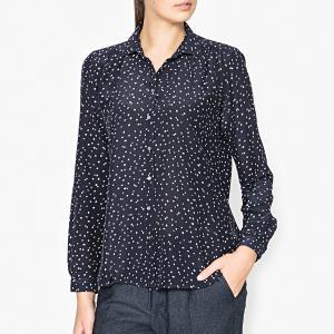 Рубашка CLAUDE HARTFORD. Цвет: темно-синий