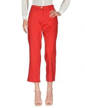 Повседневные брюки MARELLA. Цвет: красный