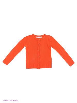 Кардиган Modis. Цвет: оранжевый, красный