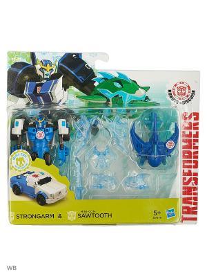 Миникон Бэтл-Пэкс Hasbro. Цвет: прозрачный, синий