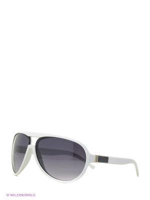 Солнцезащитные очки Vittorio Richi. Цвет: белый