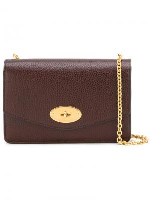Chain strap crossbody bag Mulberry. Цвет: красный
