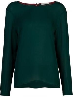 Блузка Juliet Piamita. Цвет: зелёный