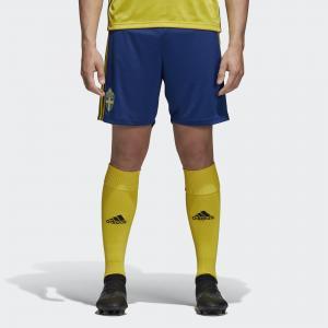 Домашние игровые шорты сборной Швеции  Performance adidas. Цвет: желтый