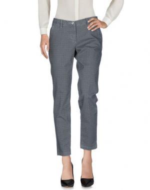 Повседневные брюки SHAFT. Цвет: серый