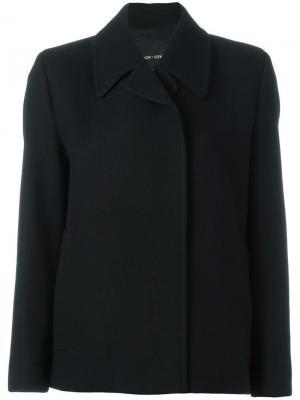 Куртка со значками Each X Other. Цвет: чёрный