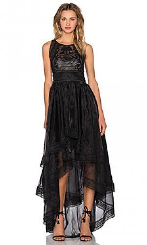 Платье mishka Bronx and Banco. Цвет: черный
