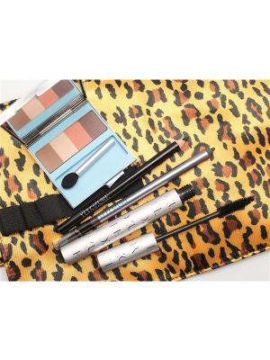 Промо-набор Леопард ИЛЛОЗУР. Цвет: коричневый, бежевый, фиолетовый, черный
