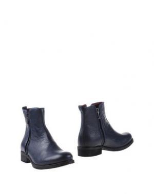 Полусапоги и высокие ботинки GRIFF ITALIA. Цвет: синий