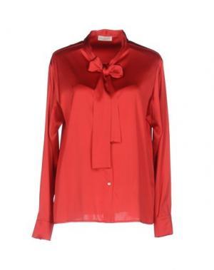 Pубашка BRUNO MANETTI. Цвет: красный