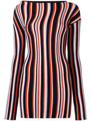 Платье мини в полоску Jacquemus. Цвет: чёрный