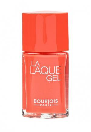 Гель-лак Bourjois. Цвет: оранжевый