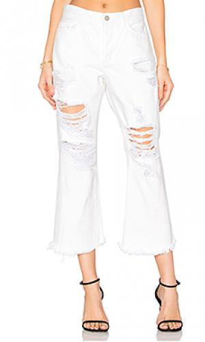 Укороченные расклёшенные джинсы jenna louise Siwy. Цвет: none