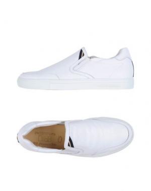 Низкие кеды и кроссовки D'ACQUASPARTA. Цвет: белый