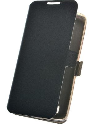 Чехол для LG K8 PRIME book. Цвет: черный