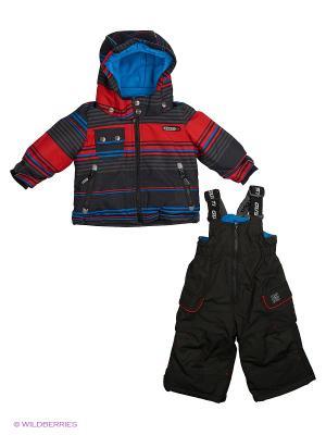 Комплект одежды Gusti. Цвет: темно-синий, красный