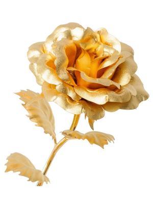 Роза Gold Leaf. Цвет: золотистый