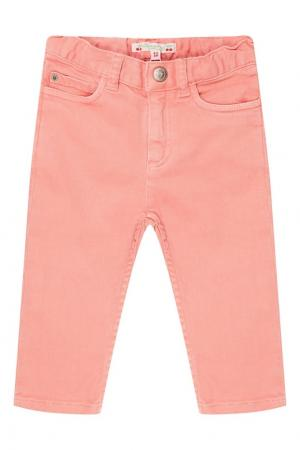 Розовые джинсы Bonpoint. Цвет: розовый