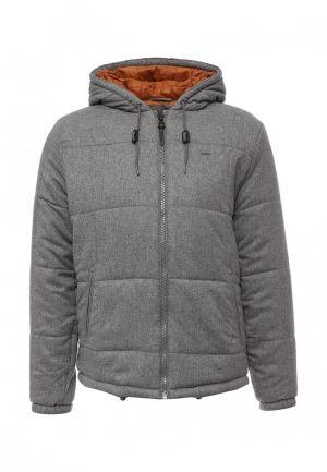 Куртка утепленная Pepe Jeans. Цвет: серый