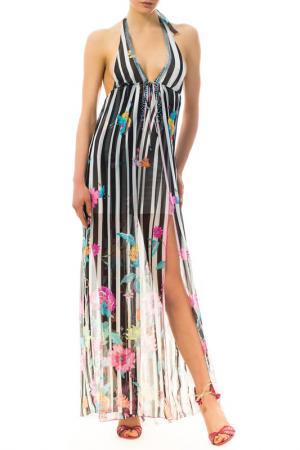 Платье VDP. Цвет: multicolor