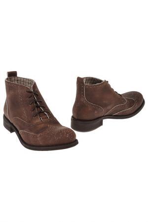 Ботинки Emma Lou. Цвет: коричневый