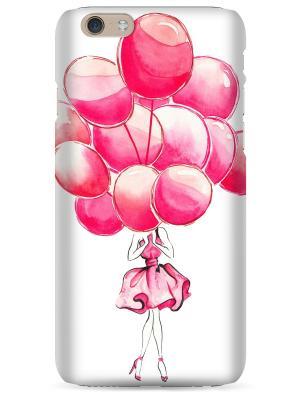 Чехол для Iphone6 Plus Sahar. Цвет: бледно-розовый