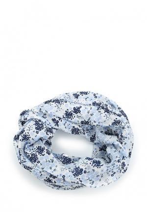 Снуд Pieces. Цвет: голубой