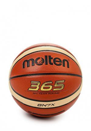 Мяч баскетбольный Molten. Цвет: мультиколор