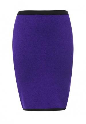 Юбка Milana Style. Цвет: фиолетовый