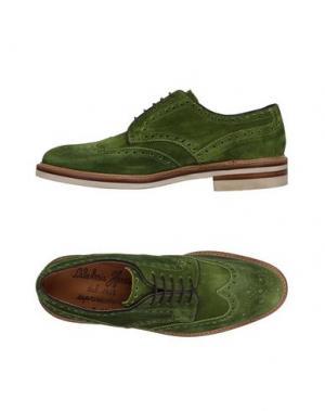 Обувь на шнурках HARRIS. Цвет: зеленый