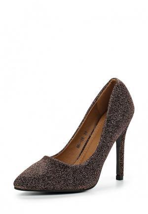 Туфли Y & L. Цвет: коричневый