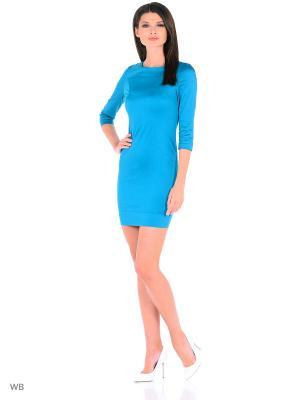 Платье средней длинны с рукавом 3/4 PETTLI collection