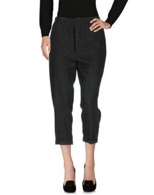 Повседневные брюки VIRNA DRÒ®. Цвет: темно-зеленый