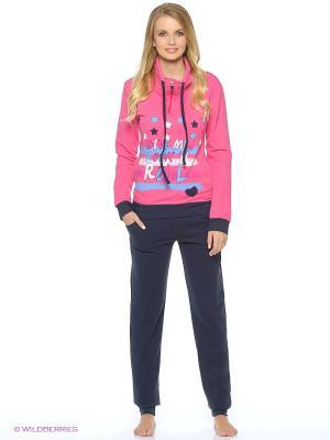 Пижама NICOLETTA. Цвет: фиолетовый